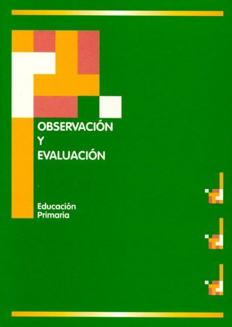 Observación y Evaluación. - Gobierno de Navarra