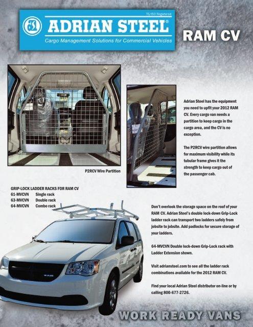 Download the RAM CV brochure. - Adrian Steel