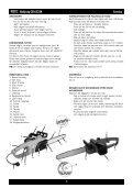 electric chain saw elektrisk kedjesåg elektrisk kjedesag - Page 5