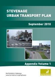 stevenage urban transport plan - Hertfordshire County Council