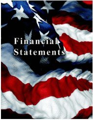 Financial Statements/Footnotes/Schedules to ... - Social Security