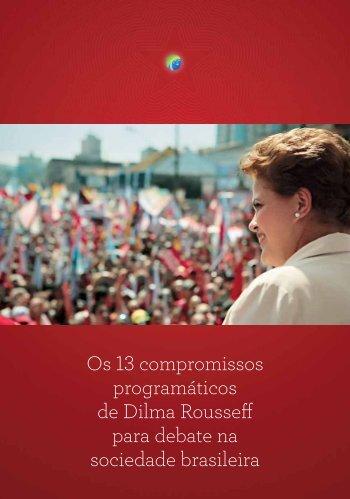Compromissos_Programaticos_Dilma_13 Pontos_