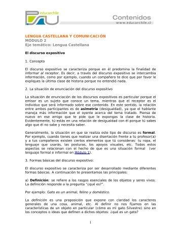 Lengua Castellana Modulo 2 - Sector Lenguaje y Comunicación