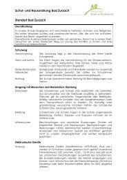 Schulordnung Standort Bad Zurzach - Kreisschule Rheintal ...