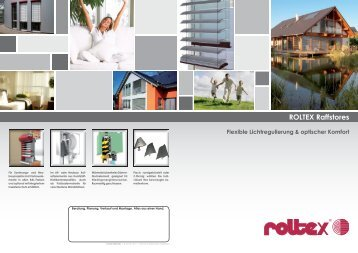 ROLTEX Vorbau-Raffstores