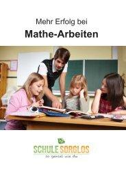 Mathe-Arbeiten – so hast du mehr Erfolg - Schule sorglos