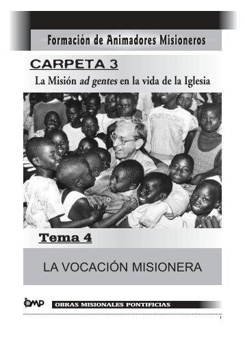 La vocación misionera - Obras Misionales Pontificias