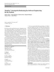 Manifest : Strategische Bedeutung des Software ... - SSE@TU-BS
