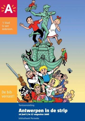 Antwerpen in de strip - Erfgoedcel Antwerpen
