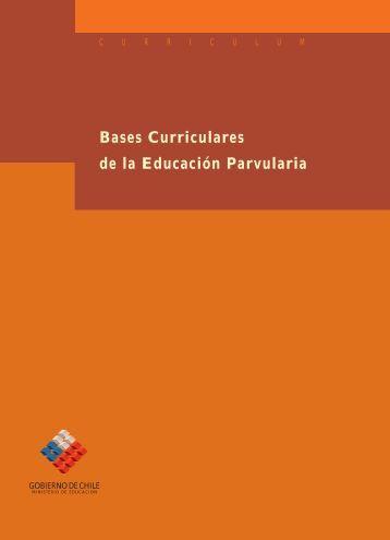 Bases Curriculares de la Educación Parvularia - OEI