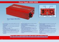 Power Supply 300W/500W - BMI-models