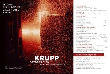 KRUPP - Villa Hügel