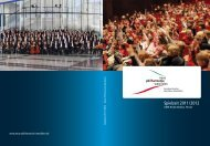Kinder brauchen Kultur. - Neue Philharmonie Westfalen