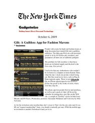 Gilt: A Guiltless App for Fashion Mavens