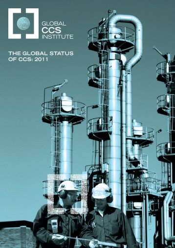 the global status of ccs: 2011 - Expert Group on Clean Fossil Energy ...