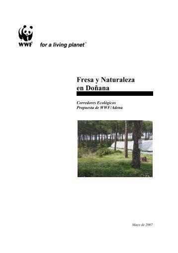 Propuesta de WWF Corredores ecológicos