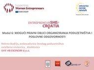 Pravni oblici organiziranja poduzetništva - Europska poduzetnička ...