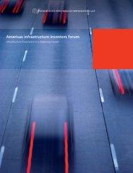 Americas infrastructure investors forum - Freshfields