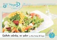 Quitate calorias, no sabor y otros temas del hogar