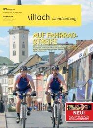 AUF FAHRRAD- STREIFE - Villach