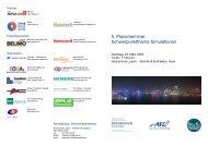 5. Planerseminar Schwerpunktthema Simulationen - Air Flow ...