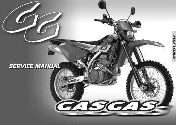 SERVICE MANUAL SERVICE MANUAL - Gas Gas