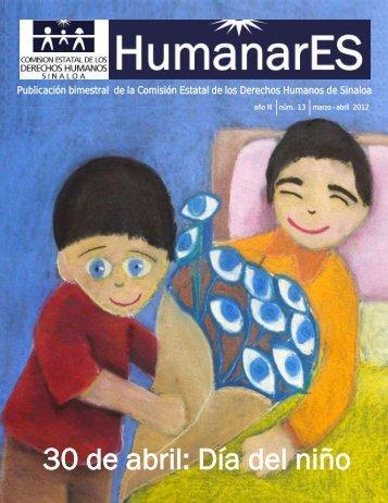 HumanarES No. 13 Marzo - Abril 2012 - Comisión Estatal de ...