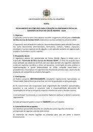 UNIVERSIDADE FEDERAL RURAL DA AMAZÔNIA EDITAL ... - UFRA
