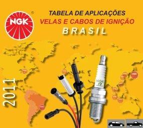 Velas e Cabos de Ignição 2011 - NGK