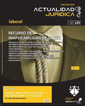 laboral - Actualidad Jurídica