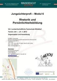 Rhetorik und Persönlichkeitsbildung - Zentrale Arbeitsgemeinschaft ...