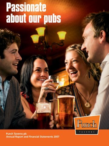 Punch Taverns plc 2007 Annual Report and Financial Statements