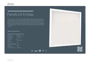 PanelLUX Einbau - Lichtline