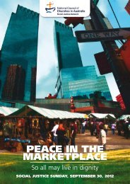 SJS 2012 - Peace in the Marketplace - National Council of Churches ...
