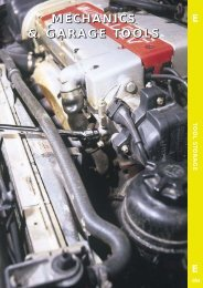 Mechanics & Garage Tool Leaflet - toolequip.ie