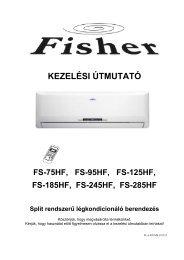 Fisher oldalfali