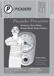 Pasado/Presente - Instituto Nacional del Teatro