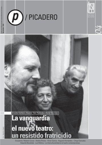 Picadero Nº 4 - Instituto Nacional del Teatro