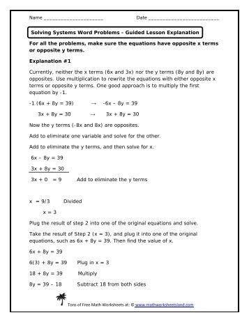 mother 39 s day solving word based equations math worksheets land. Black Bedroom Furniture Sets. Home Design Ideas