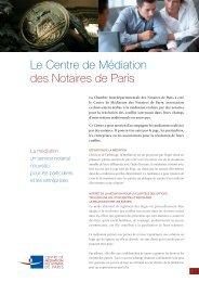 Le Centre de Médiation des Notaires de Paris - LexisNexis