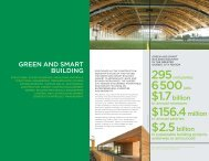 Green and smart building fact sheet - Québec International