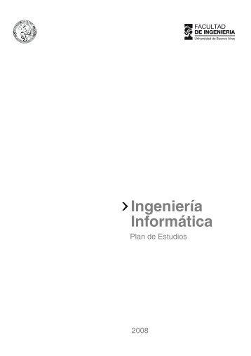 Ingeniería Informática - Facultad de Ingeniería - Universidad de ...