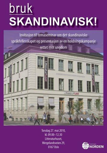 program - Nordisk Sprogkoordination
