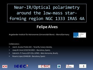 Near-IR/Optical polarimetry around the low-mass star-forming region ...