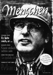 Manfred Krug • Porträt/Titelgeschichte in