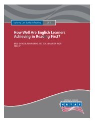 How Well are English Learners Achieving in Reading - North Dakota ...