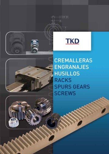 cremalleras engranajes husillos racks spurs gears ... - Corsairsarl.com