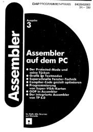 Assembler - Markus Mu(e)ck's Home Page