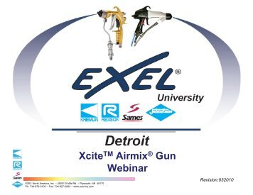Xcite Gun Revie - Finishing Consultants