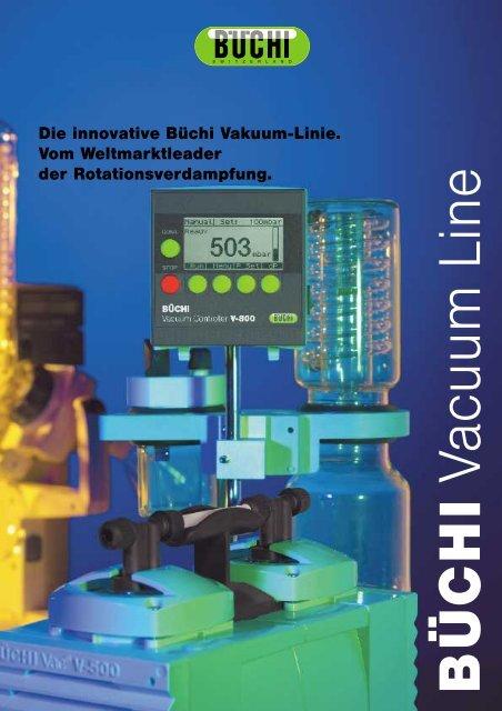 Die PTFE-Membranpumpe Büchi Vac V-500